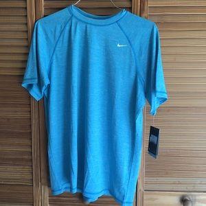NWT Men's Nike Blue Dri-Fit Short-Sleeve Tee